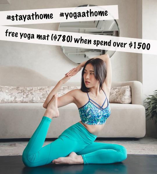 #stayathome #yogaathome