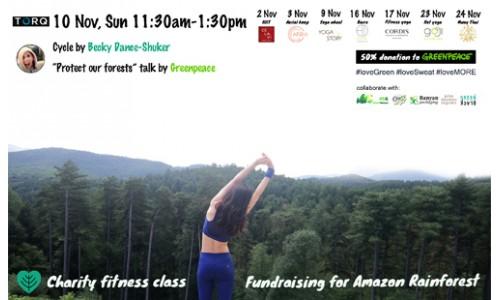 Charity Fitness Class @torq.hk