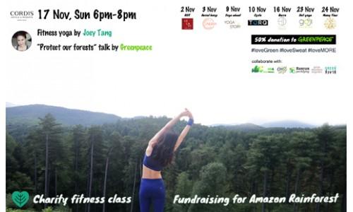 Charity Fitness Class @cordishk