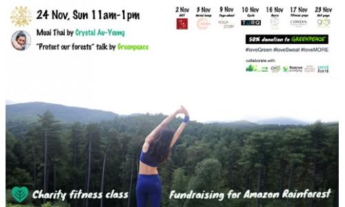Charity Fitness Class @krumuaythaihk