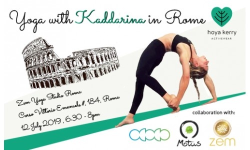 Yoga with Kaddarina in Rome