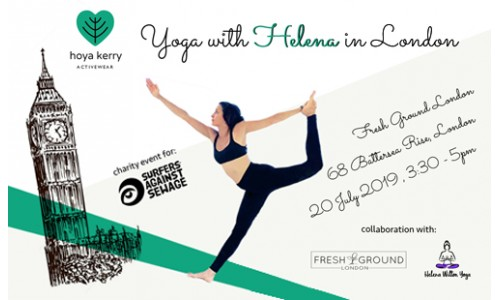 Charity event: Yoga with Helena in London
