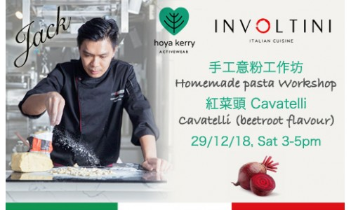 Homemade pasta workshop