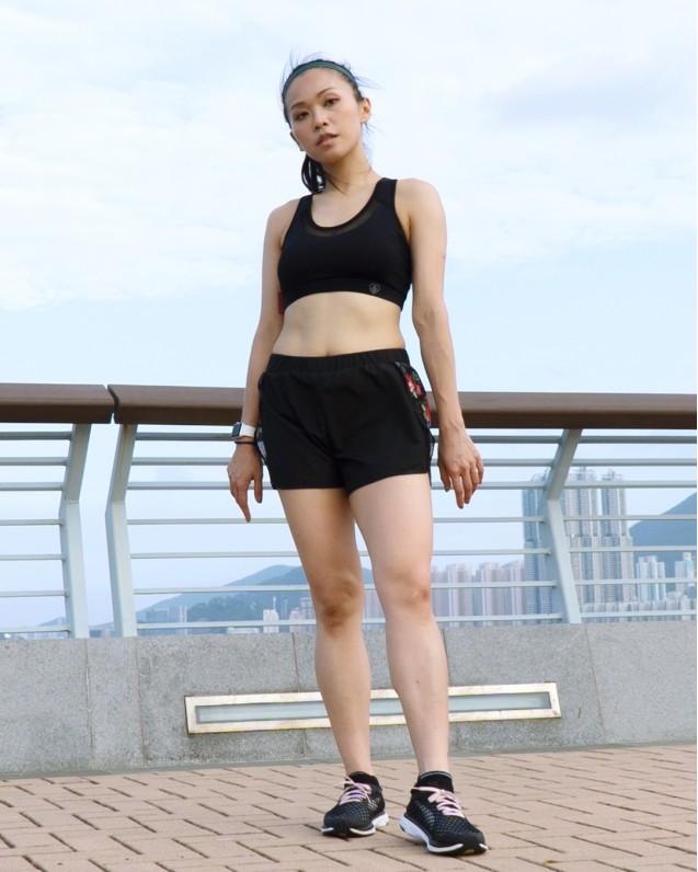 Saya run shorts